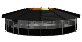 3d design of the roof type Full Option