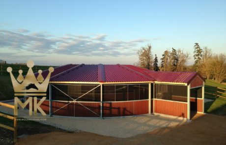 Track roof full option Molenkoning