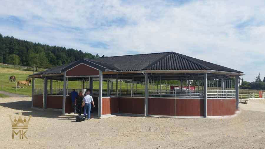 Horsewalker installed in Switzerland