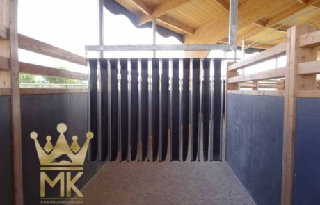 skywalker installado a cubierta de madera