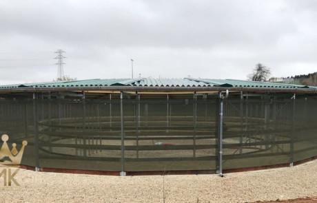 rail dak voor stapmolen