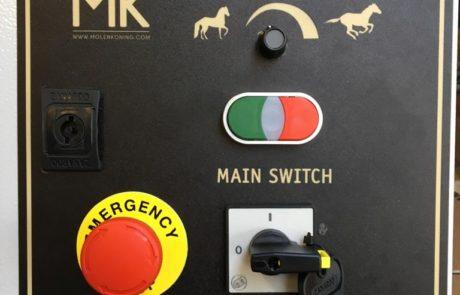 Caja de control estándar