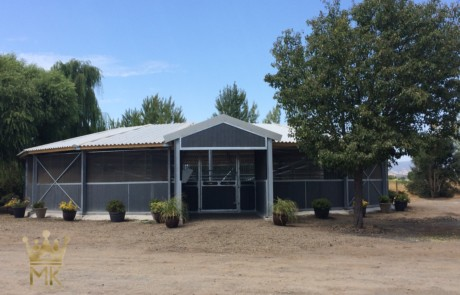 Equestrian roofs molenkoning