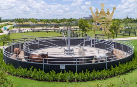 MK Round fence