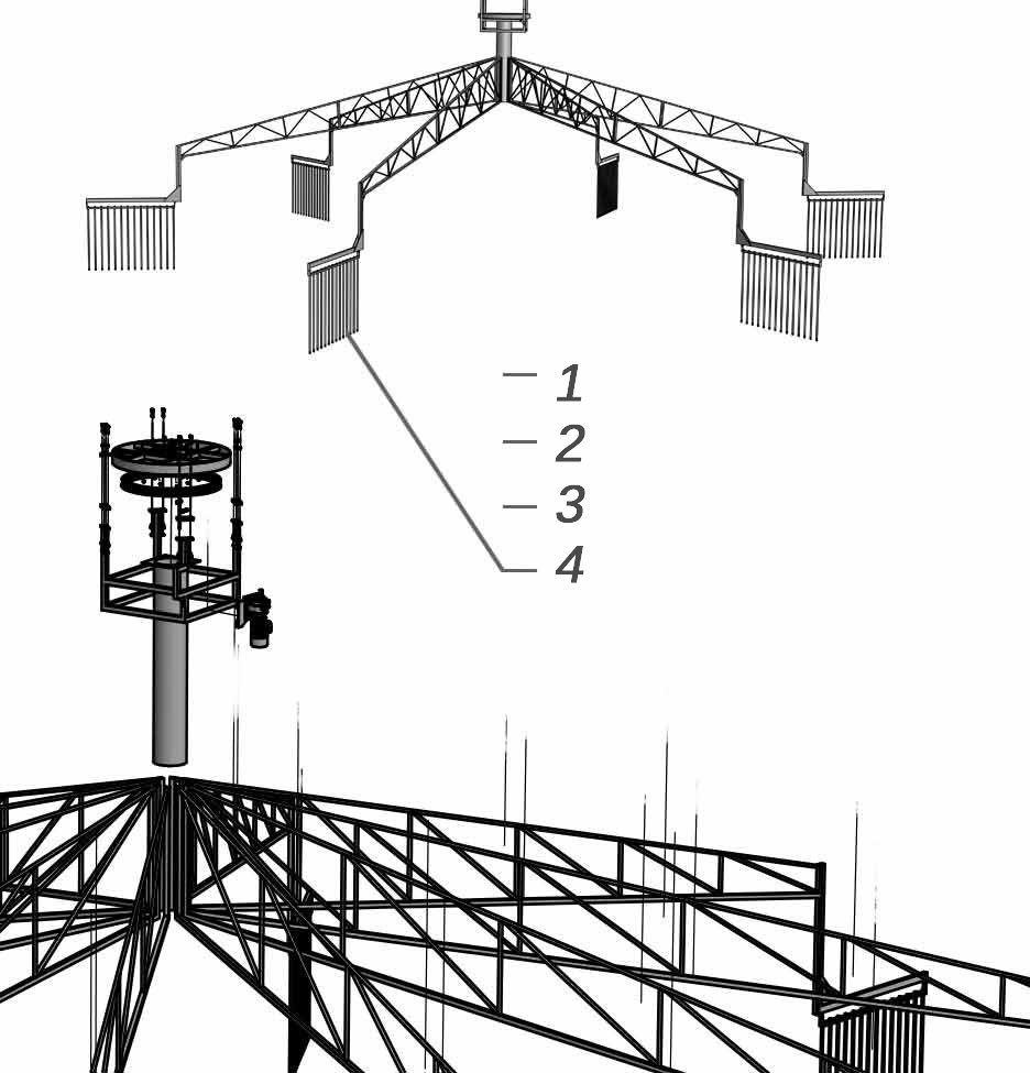 Diseño en 3D de caminador skywalker