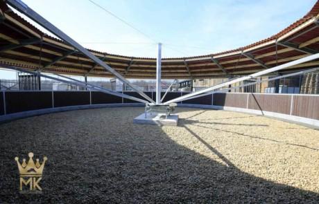 Circonferenza rotonda del tetto tipo 'Round Fence'