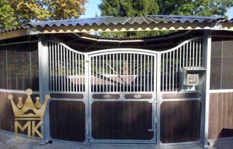 Puerta de cubierta en acero galvanizado