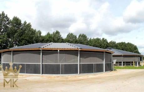 Cubiertas para instalaciones hípicas molenkoning